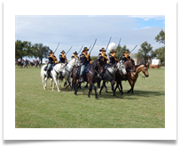 Cavalry action, courtesy of Greg Klugiewicz.