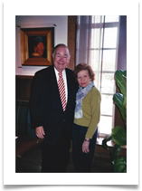 With Dr. David Boren, President of OU