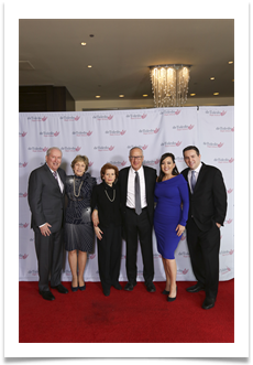 Dr. Mel and Paula Levy, Raqui, Dr. Bruce Powell, Ruth and Josh Levy