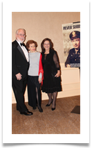 Col Ed & Monica Ramsey Jr. with Raqui at the reception