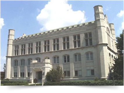 Monnet Hall, Home of OU College of Law from 1914 - 1976