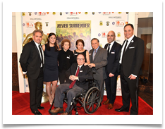 Producers Steven Barbara and Tamara Henry with Raqui's Family and Doug Ramsey at the Red Carpet