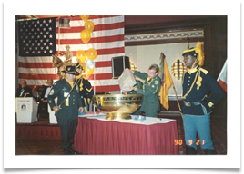 Cavalry Punch Bowl Ceremony