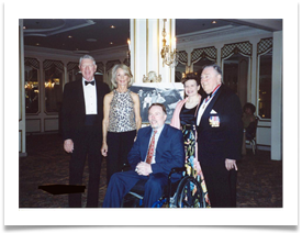 Admiral & Mrs. Lee Levenson with Doug Ramsey