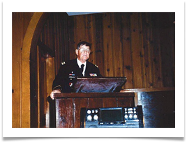 Chaplain Paul Scholtz