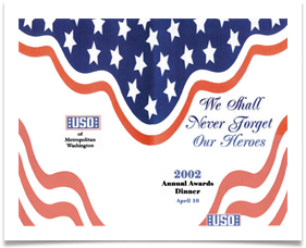USO Program - April 16, 2002, Washington DC