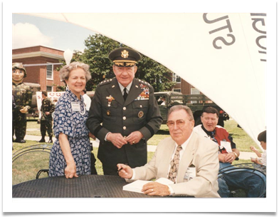 Oklahoma Military Academy Lt. General Bill & Elaine Potts