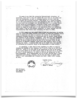 Ed's Letter to MacArthur, page 2