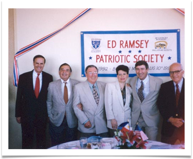 Patriotic Society Inauguration 1992
